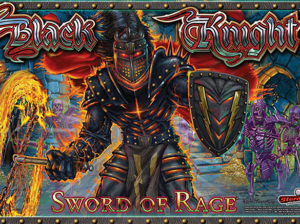 Black Knight Sword of Rage pinball pro translite image
