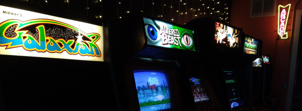 Video Arcade Games - Galaxian, Altered Beast and Final Fight