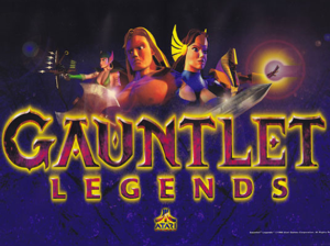 Gauntlet Legends marquee image