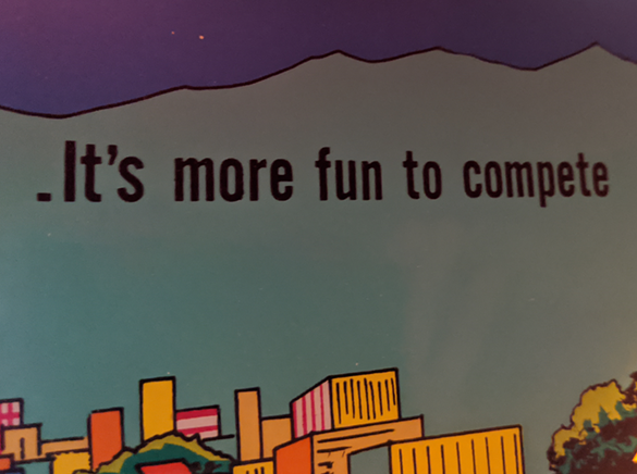 It's more fun to compete!