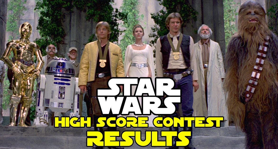 Star Wars Pinball High Score Contest at Pinball Land