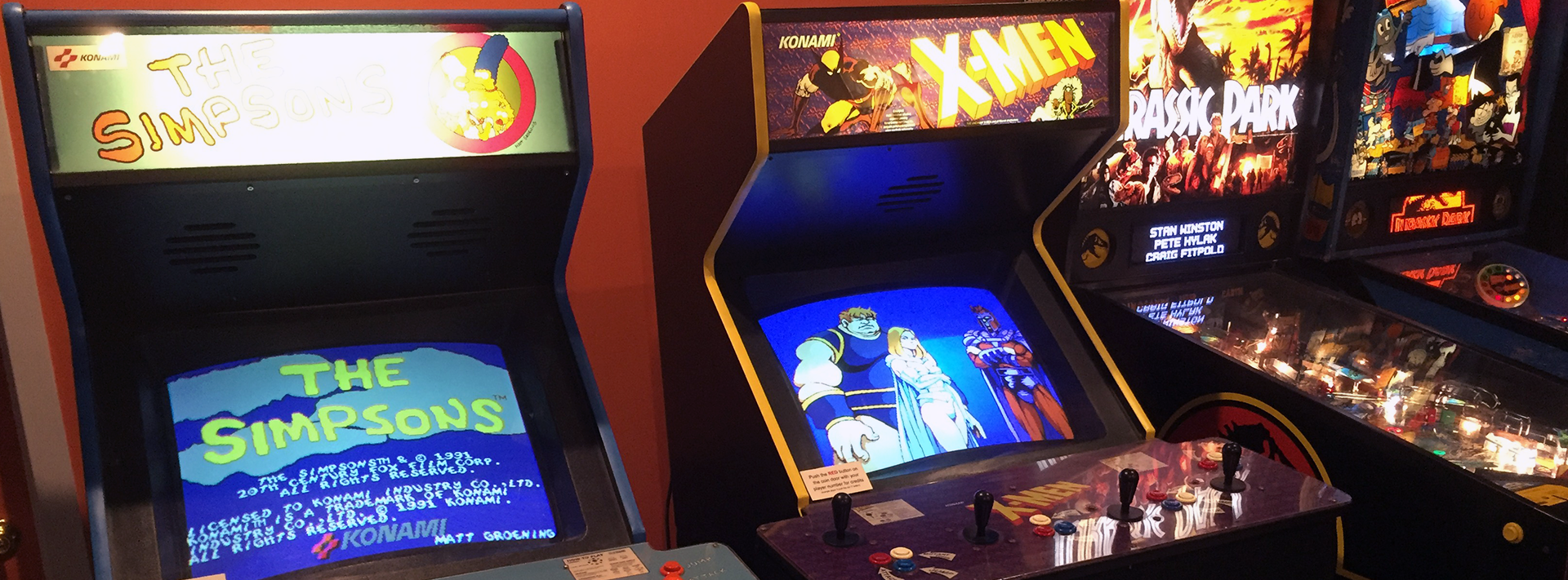 4-Player Arcade Games