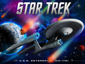 Star Trek pinball alternate translite