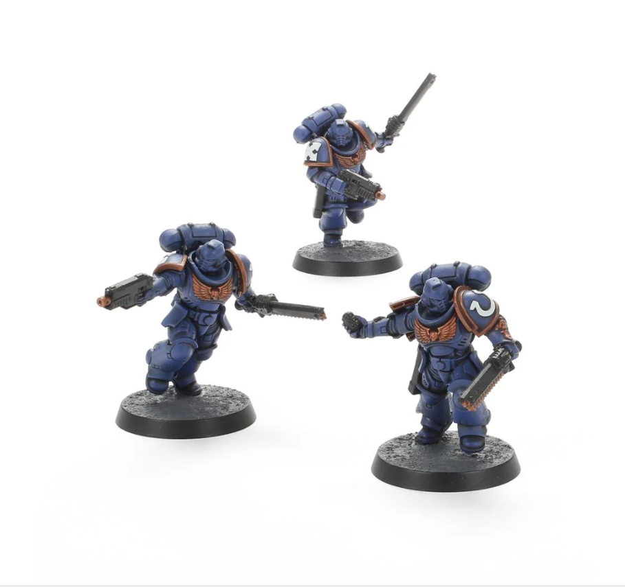 Assault Intercessors from the Paint Set