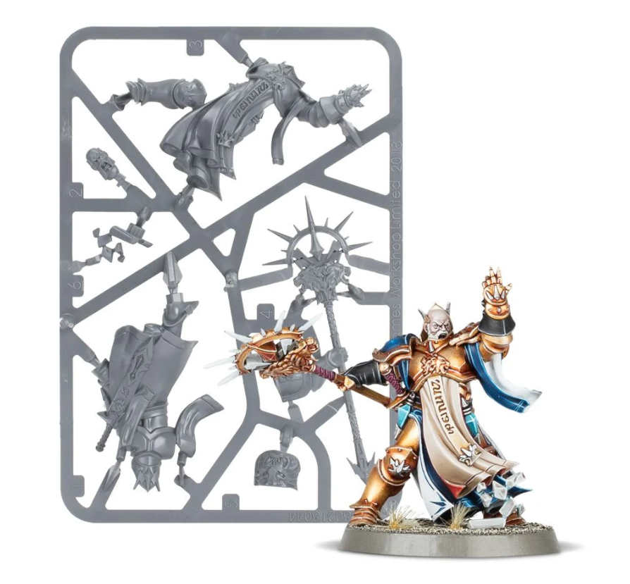 Getting Started with Warhammer Age of Sigmar free miniature model