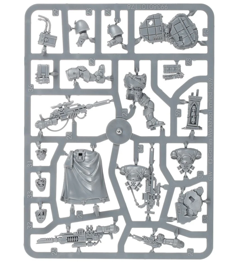 Primaris Eliminators sprue