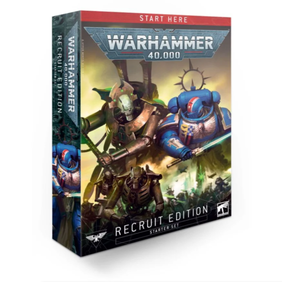 Warhammer 40000 Recruit Edition box