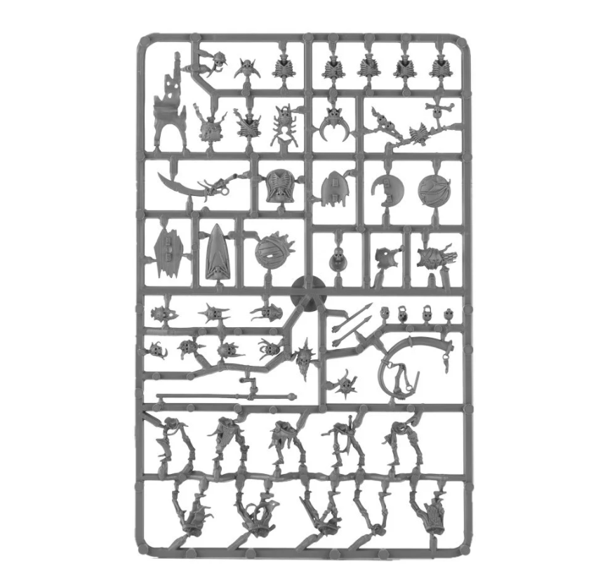 Deathrattle Skeleton Warriors sprue