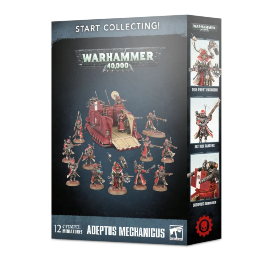 Start Collecting Adeptus Mechanicus Ad Mech Army Box