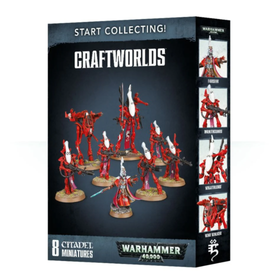 Start Collecting Craftworlds Aeldari Eldar Box Set