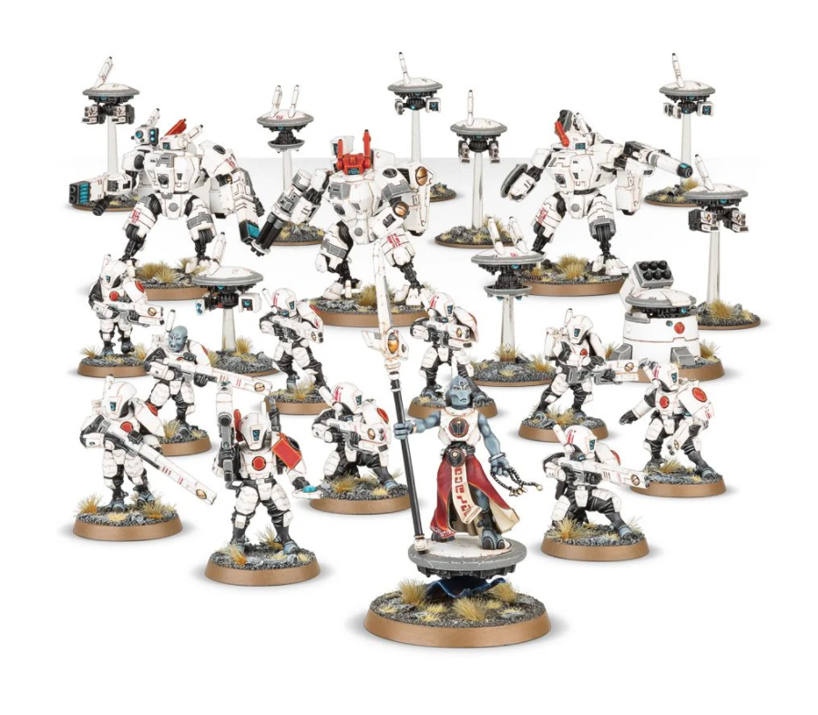 Start Collecting Tau Empire