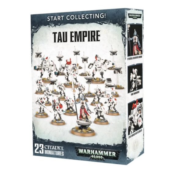 Start Collecting Tau Empire Box