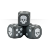 Dice Cube Grey Detail
