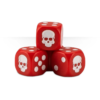 Dice Cube Red Detail