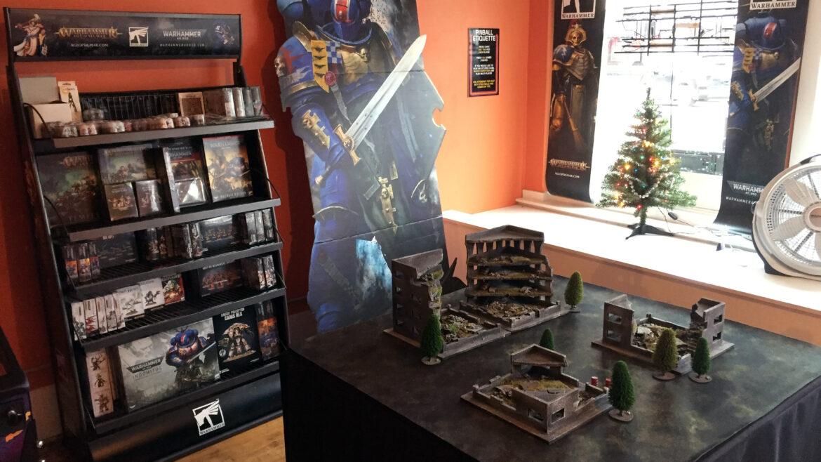 Warhammer 40,000 now available at Pinball Land