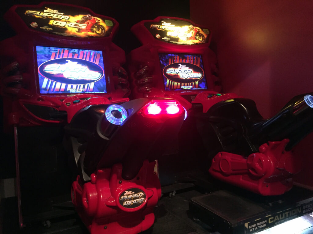 Fast and the Furious Super Bikes at Pinball Land