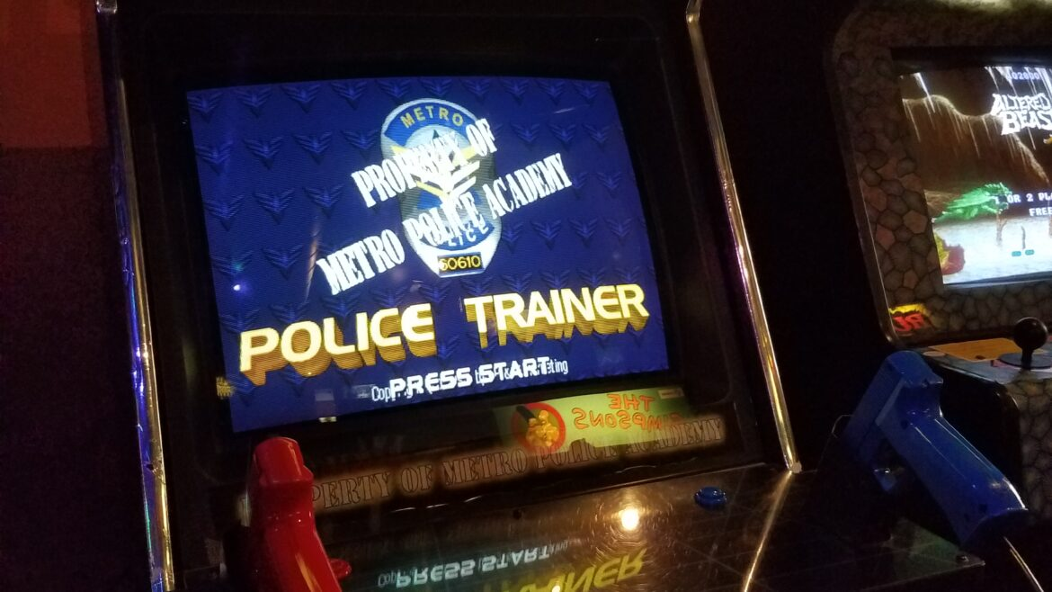 Police Trainer Arcade Game Pinball Land