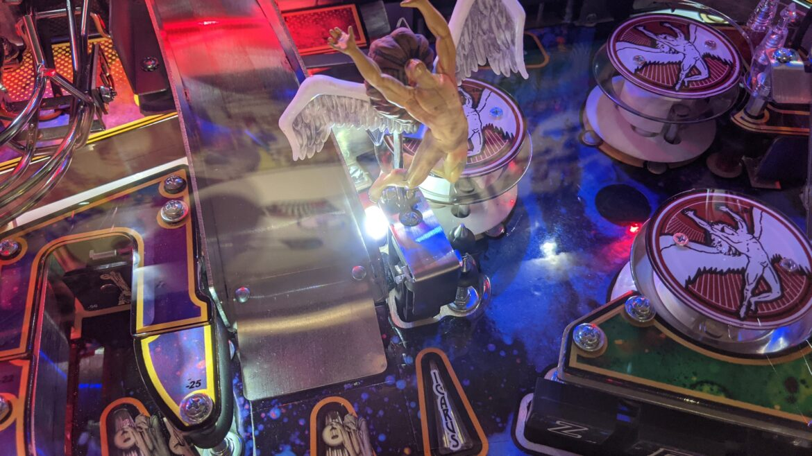 Led Zeppelin Pinball at Pinball Land Icarus Toy